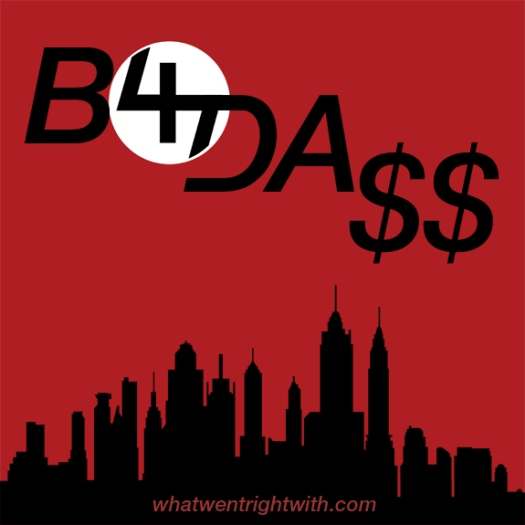 Album cover for B4.Da.$$ by Joey Bada$$ made by whatwentrightwith.com featuring a New York skyline and the 47 Logo