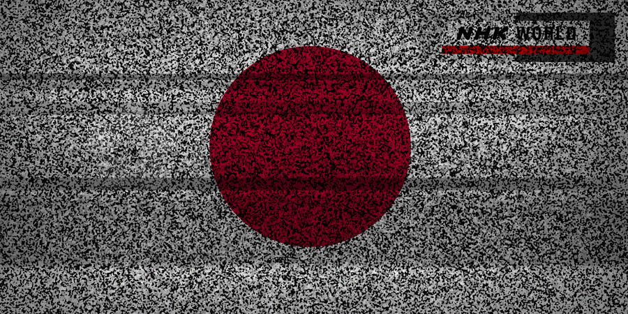 What Went Right With... NHK World? An image of TV static over a Japanese Flag by whatwentrightwith.com
