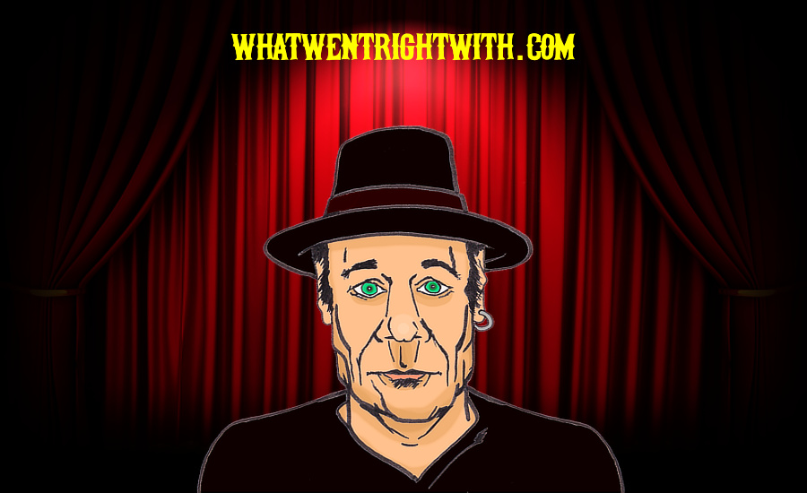 A caricature of Stand-Up Comedian Eddie Pepitone by whatwentrightwith.com