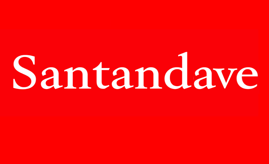 What Went Right With... Santan Dave? A parody of the Santander logo used to illustrate UK Rapper Santan Dave by whatwentrightwith.com