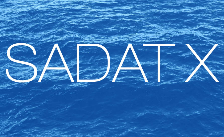 "A review of the album ""Agua"" by Sadat X illustrated by an image of water by whatwentrightwith.com"