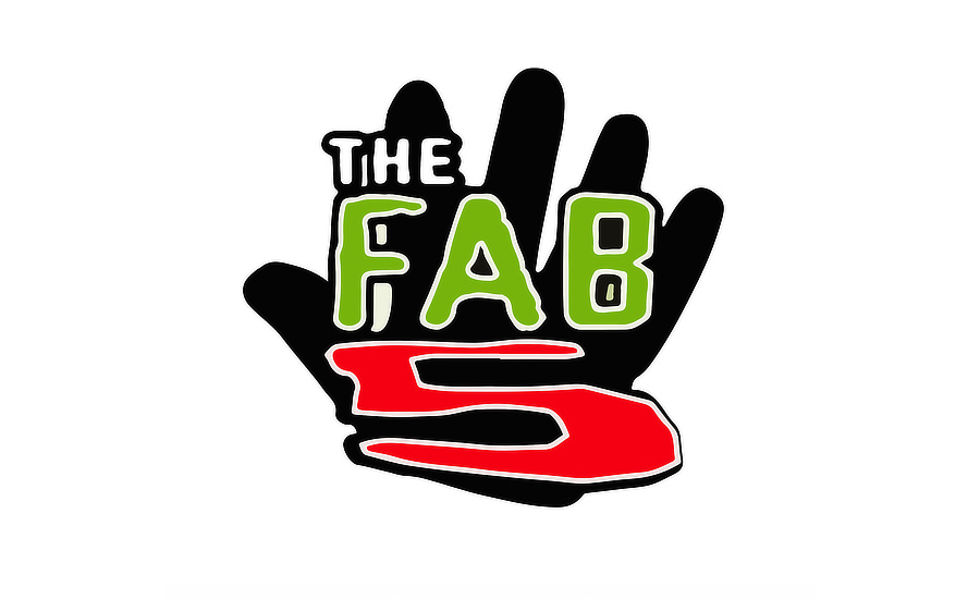 What Went Right With... The Fab 5 aka The Fabulous Five? The logo of the Boot Camp Clik group Fab 5 by whatwentrightwith.com