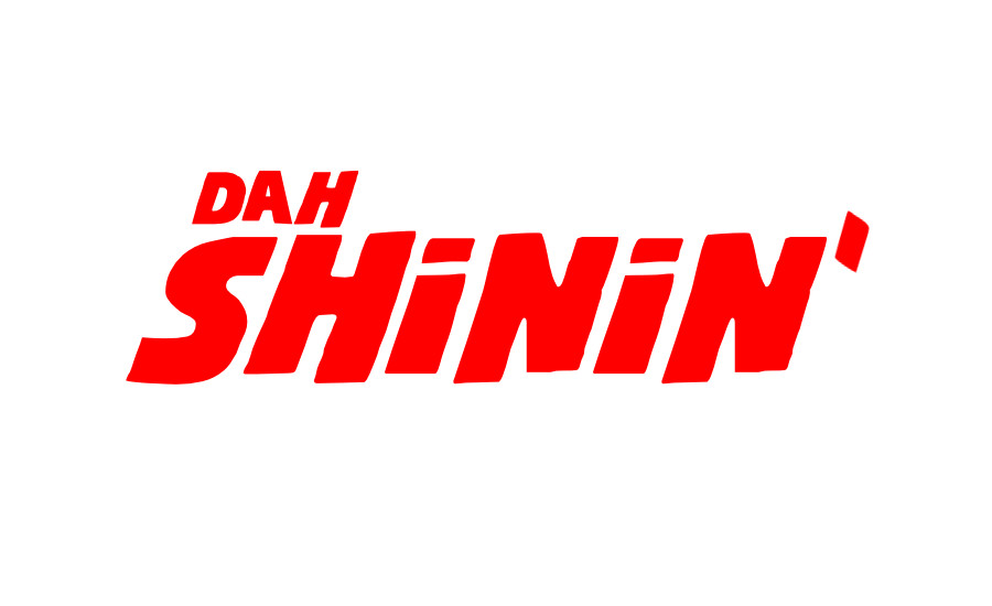 A parody of The Shining movie font showing the title Dah Shinin'. A review of the Smif-N-Wessun album by whatwentrightwith.com