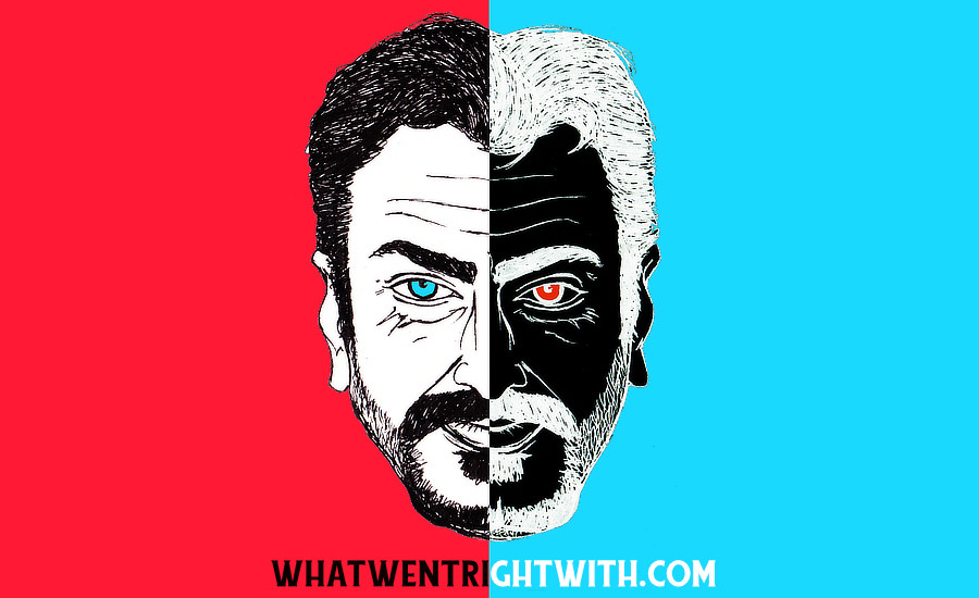 A caricature of Nawazuddin Siddiqui by What Went Wrong Or Right With...? For whatwentrightwith.com