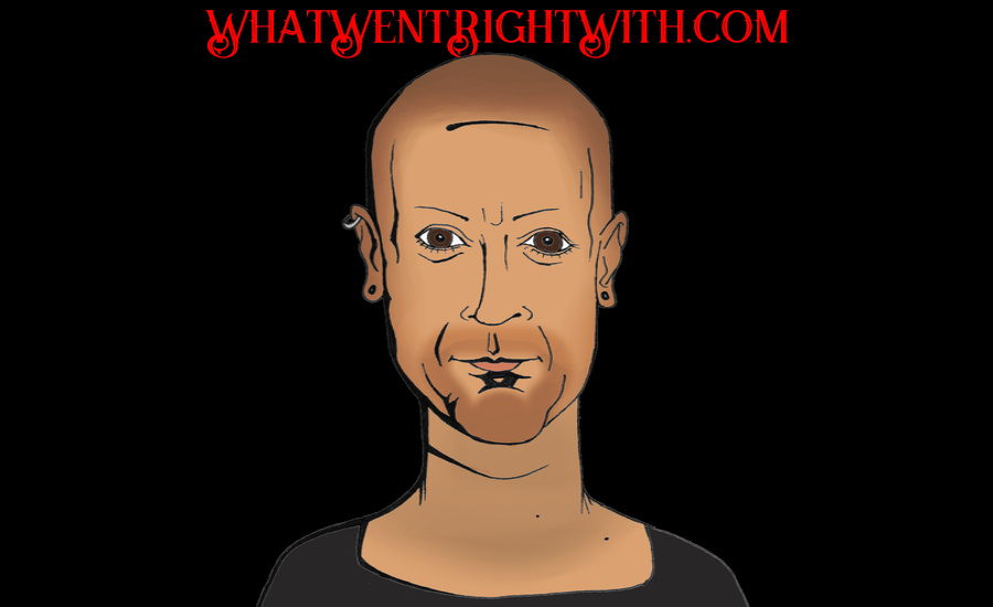 A caricature of Joseph Bishara by What Went Wrong Or Right With...? for whatwentrightwith.com