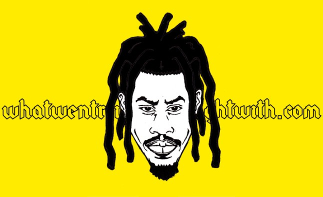 A caricature of Denzel Curry by What Went Wrong Or Right With...?