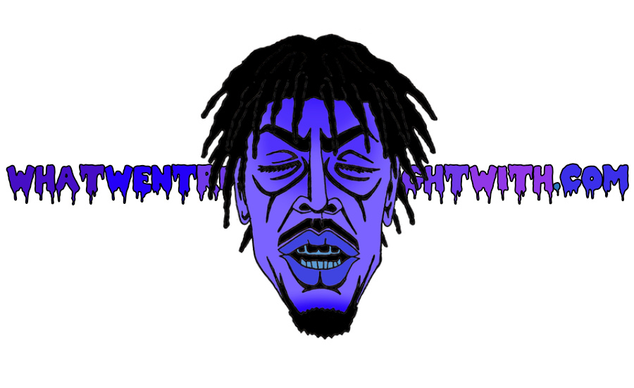A caricature of Meechy Darko by What Went Wrong Or Right With...?