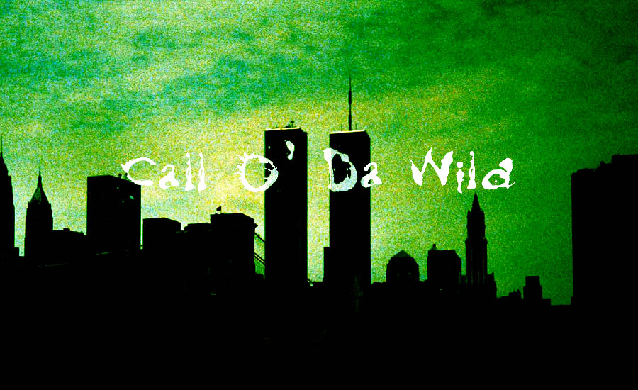 The Call O' Da Wild logo over a 1990s New York skyline
