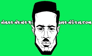 A caricature of D Double E by What Went Wrong Or Right With...?