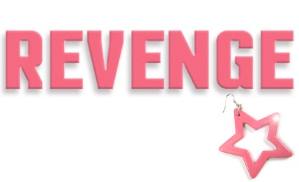 An image of a pink star earring to accompany the review of Revenge. By What Went Wrong Or Right With...?