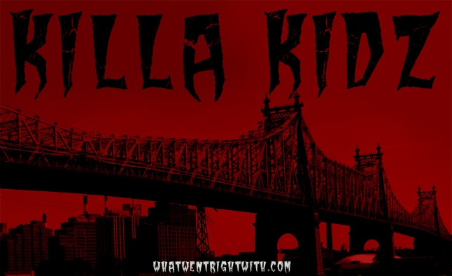 An image of the Queensboro Bridge with the name Killa Kidz over it