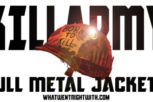 A pastiche of Full Metal Jacket poster for Killarmy album Full Metal Jackets