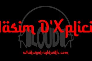 Aasim D'Xplicit over the Loud Records logo