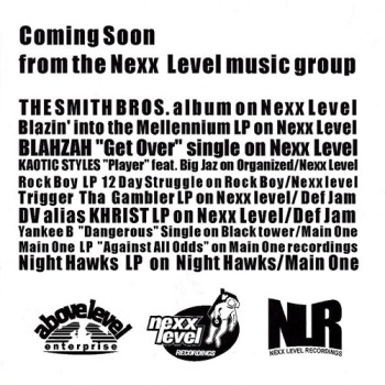 Coming Soon from the Nexx Level music group